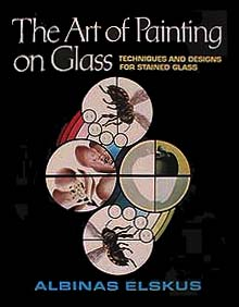 The Art of Painting on Glass (book cover)
