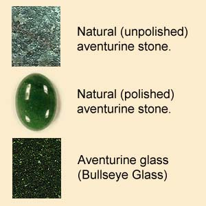 Stone and Glass Aventurine
